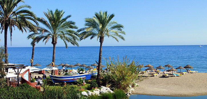 Beach and Sea at the Costa del Sol